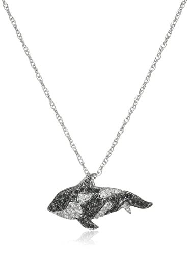 swarovski her on pendant crystals jewellery whale silver ae buy from online
