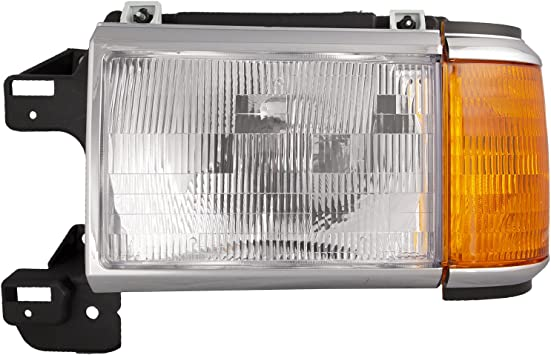 HEADLIGHTSDEPOT Signal Light Compatible with Ford Bronco F-150 Includes Left Driver Side Corner Signal Light
