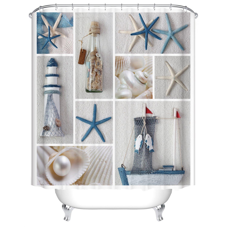 rideau de douche imperm able anti moisissures lavable. Black Bedroom Furniture Sets. Home Design Ideas