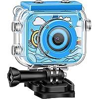 Fistech Children Kids Camera Waterproof Digital Video HD Action Camera 1080P Sports Camera Camcorder DV for Girls…