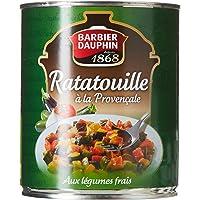 BARBIER DAUPHIN Ratatouille à la Provençale aux Légumes Frais 750 g - Lot de 6