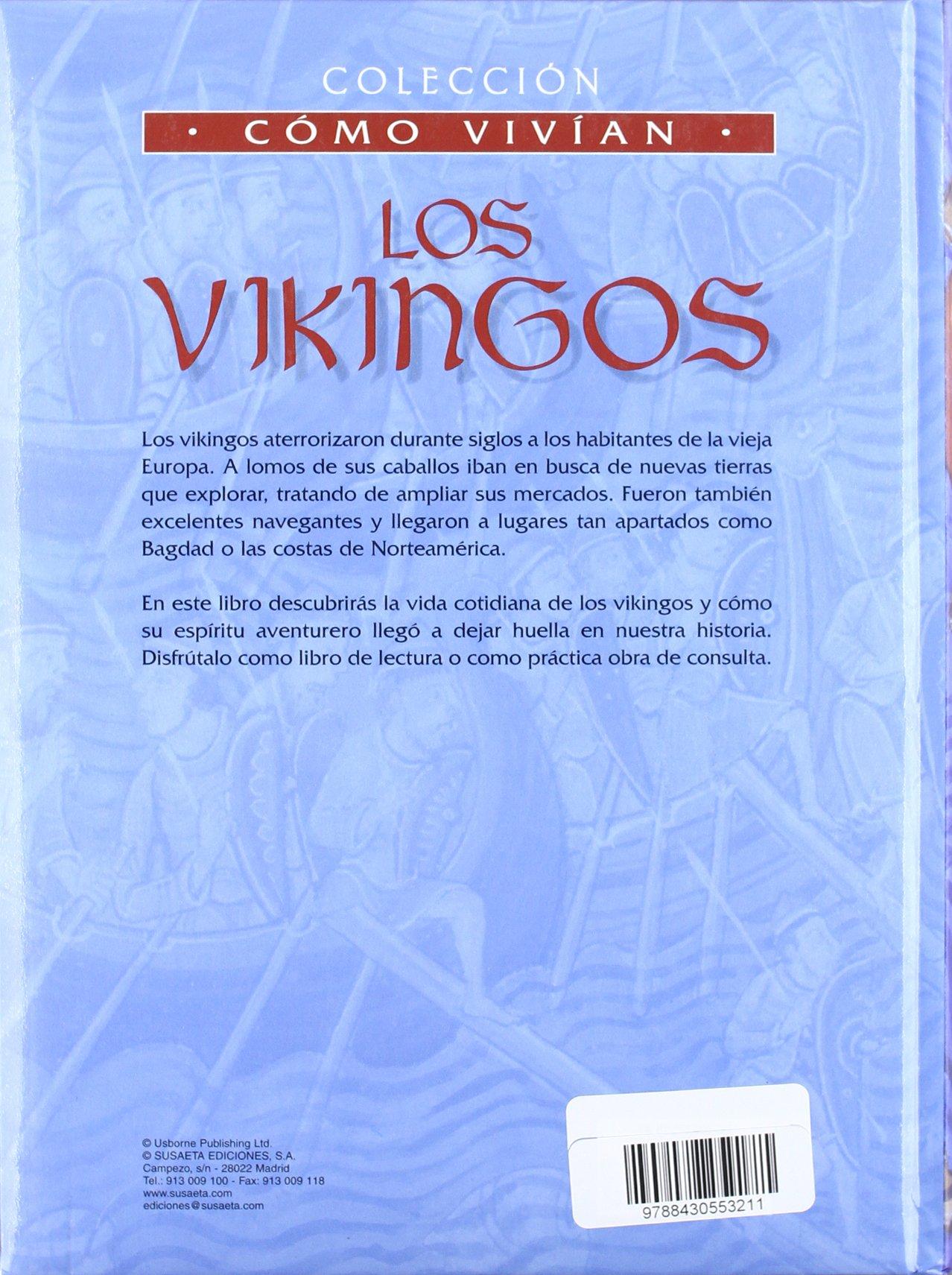 Los vikingos (Como Vivían): Amazon.es: Wingate, Philippa, Millard ...