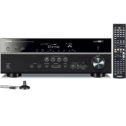 Amazon.com: Yamaha RX-V473 5.1- Channel Network AV Receiver ...