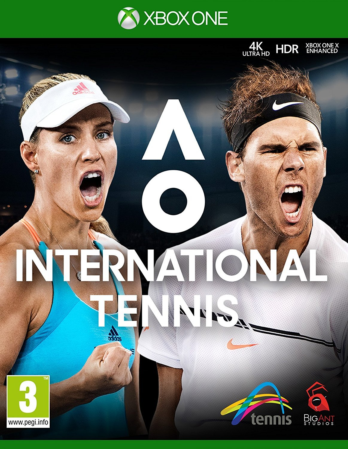 AO International Tennis (Xbox One) by Big Ant Studios (Image #1)