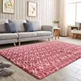 Flagover Soft Indoor Large Modern Area Rugs Shaggy Patterned Fluffy Carpets Suitable for Living Room and Bedroom Nursery…