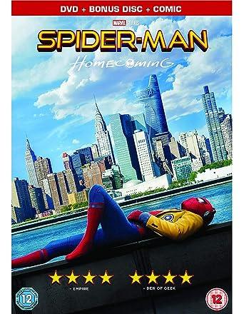 Spider-Man: Homecoming DVD + Digital Import italien: Amazon
