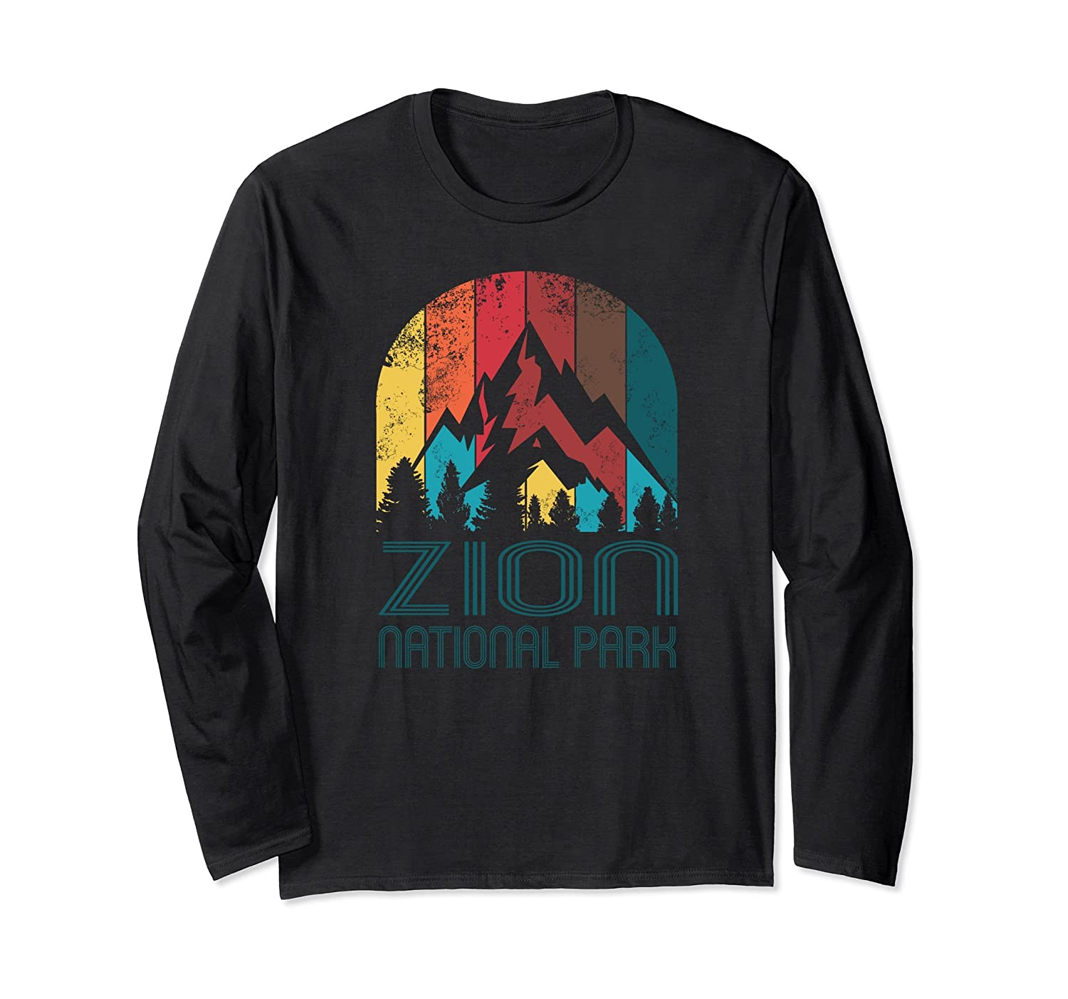 Zion National Park Gift or Souvenir Long Sleeve T Shirt-Awarplus