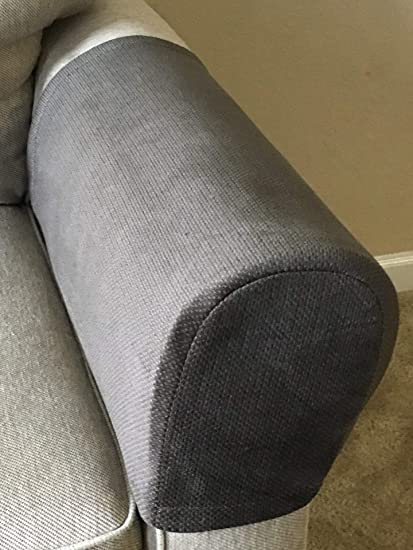 Exceptional Amazon.com: TedPerf Goods Couch Arm Covers (Dark Grey, 9in H X 5.5in W X  22in D) Set Of Two Thick Armrest Covers For Armchairs, Loveseats And Sofas  ...