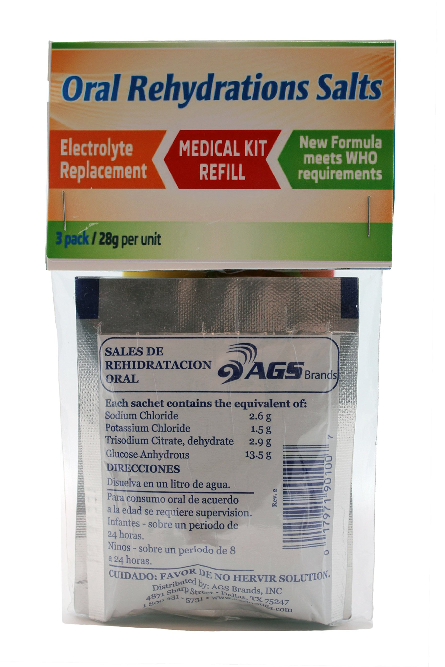 AGS Brands Oral Rehydration Salts, 3 Pack by AGS Brands (Image #1)