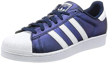 Adidas Superstar Schuhe (S75875), Blau Weiß, 40 2 3 EU  Amazon.de ... 55e2b1f69c