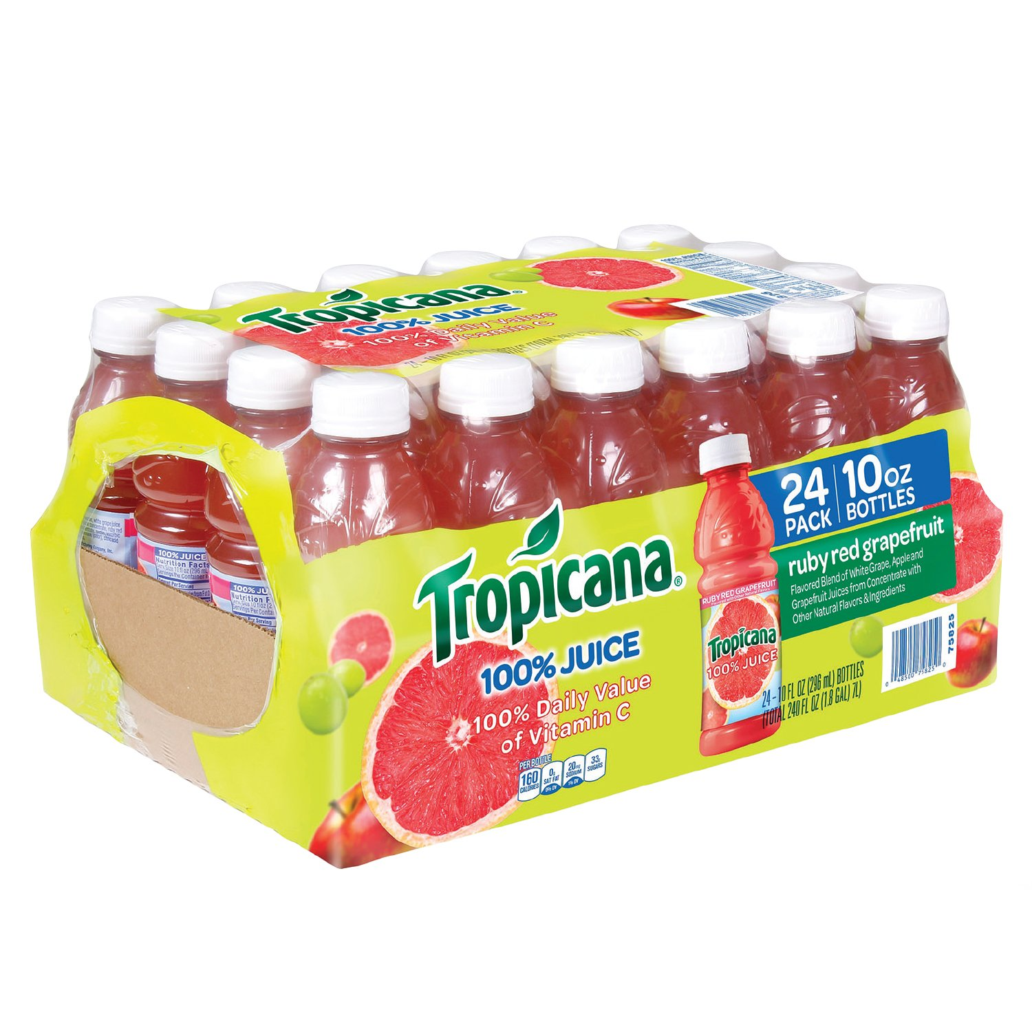 Tropicana Ruby Red Grapefruit.
