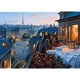 Gibsons An Evening in Paris Jigsaw Puzzle, 1000 piece