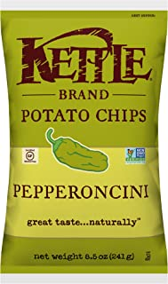 product image for Kettle Brand Potato Chips, Pepperoncini, 8.5 Ounce (Pack of 12)