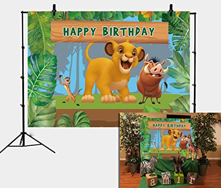 Daniu Cartoon König Der Löwen Simba Thema Hintergrund Kamera