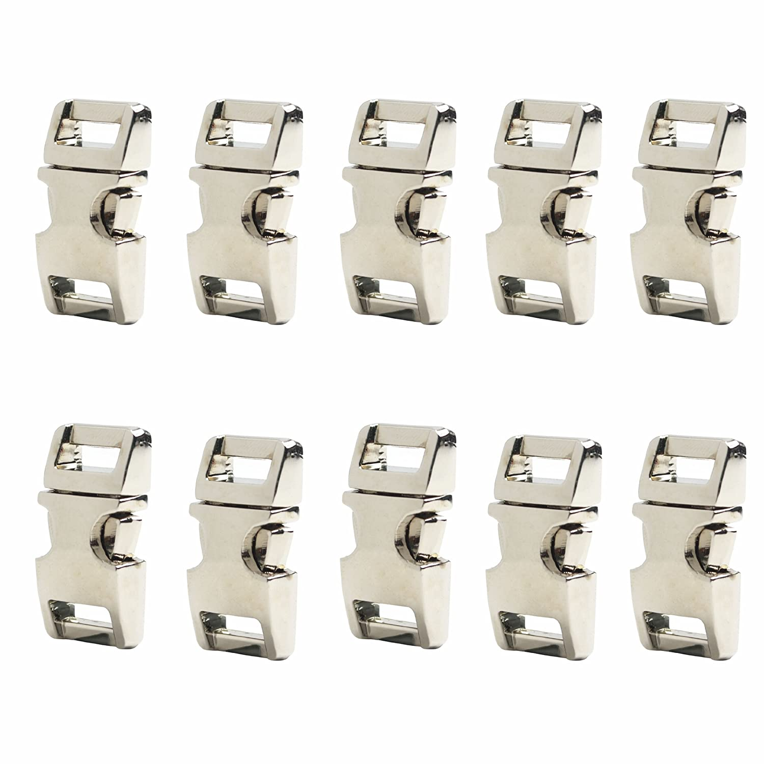 5/8-Inch Bronze Color Metal Side Release Buckles For Paracord Bracelets (Pack of 10pcs) by DGQ leateck 58 bronze
