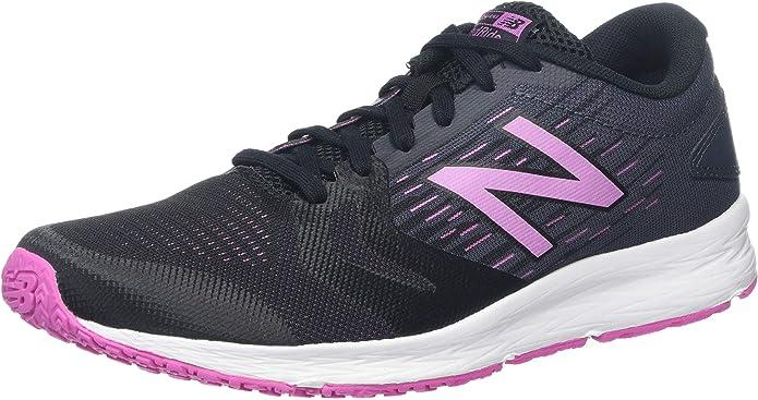 New Balance Wflshv3, Zapatillas de Running para Mujer, Negro (Black/Pink Black/Pink), 37 EU: Amazon.es: Zapatos y complementos