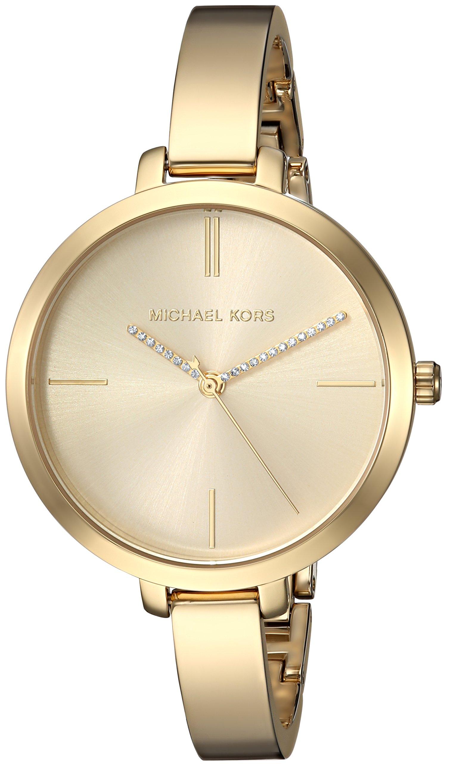 Michael Kors Women's 'Jaryn' Quartz Stainless Steel Casual Watch, Color:Gold-Toned (Model: MK3734)
