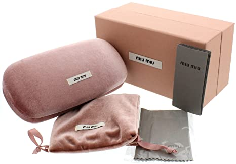 8f75ccfa3622 Image Unavailable. Image not available for. Color: Miu Miu Large Sunglass  Case