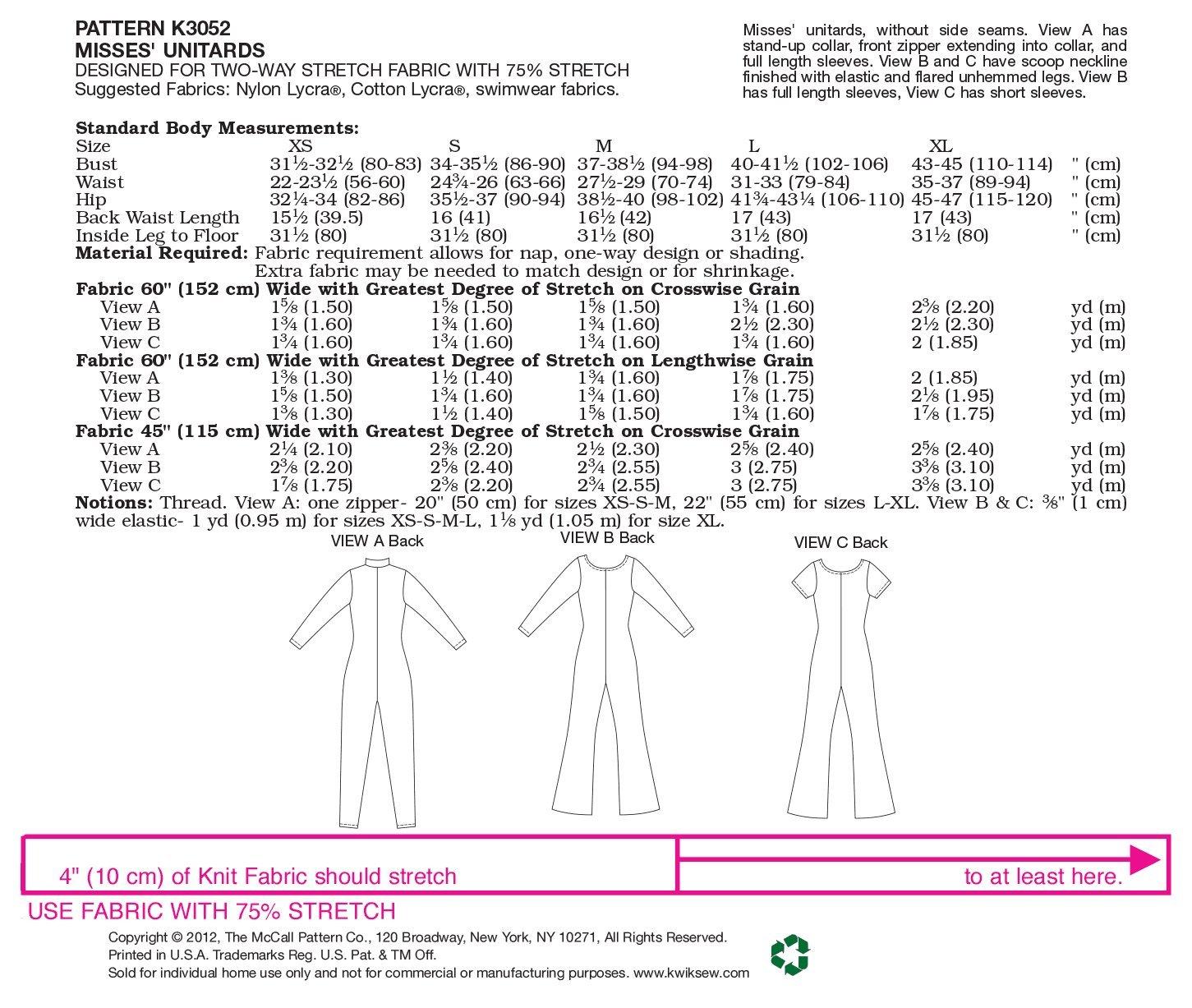 18W-20W-22W-24W McCalls Sewing Pattern 5893 Ladies Plus Size Dress Sizes