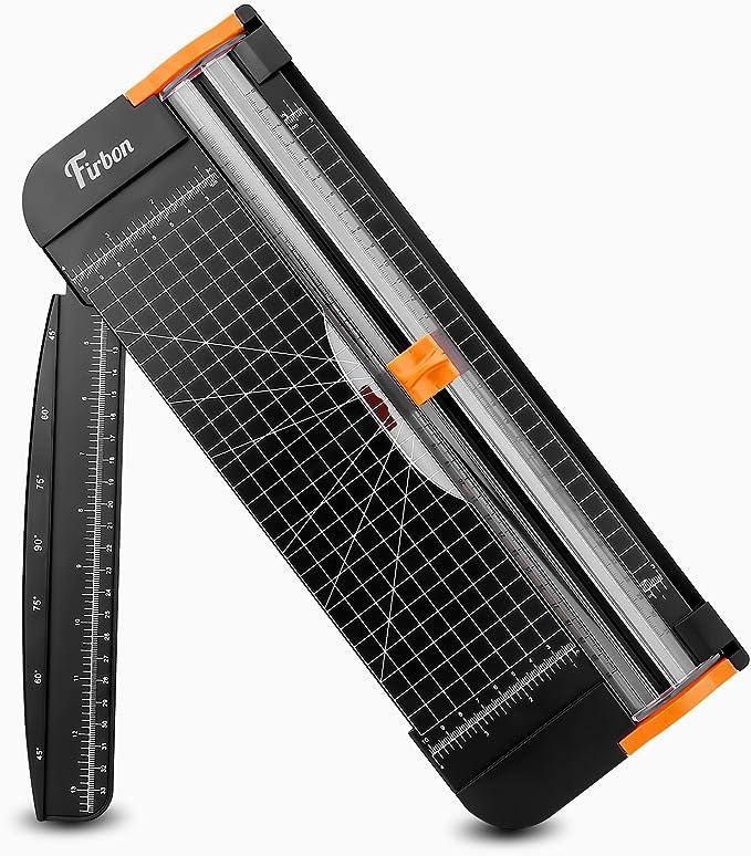 Firbon cortadora de papel titanio 12 inch A4 cortador con