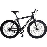 Helliot Bikes Fixie Nolita 50 Bicicleta Urbana, Hombre, Negro, Talla Única