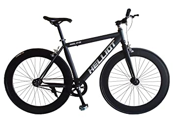 Helliot Bikes Fixie Nolita 50 Bicicleta Urbana, Hombre, Negro, Talla Única: Amazon.es: Deportes y aire libre
