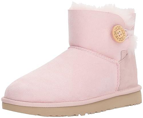 32f13d144ee UGG Womens Mini Bailey Button II Fashion Boot
