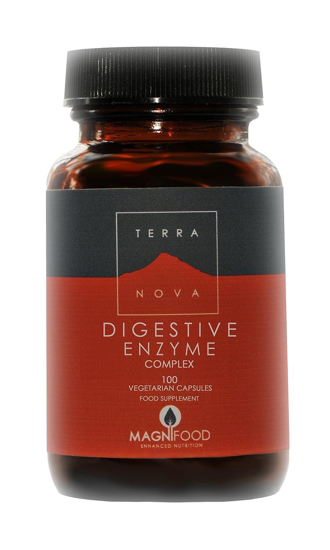 ijsalut - enzimas digestivas complex 100 terra nova 100 capsulas