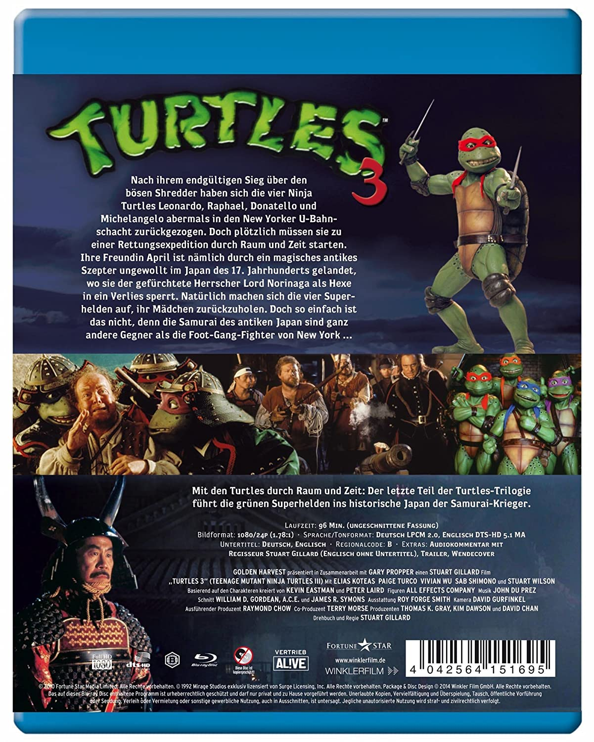 Amazon.com: Turtles 3 - Ninja Turtles: Movies & TV