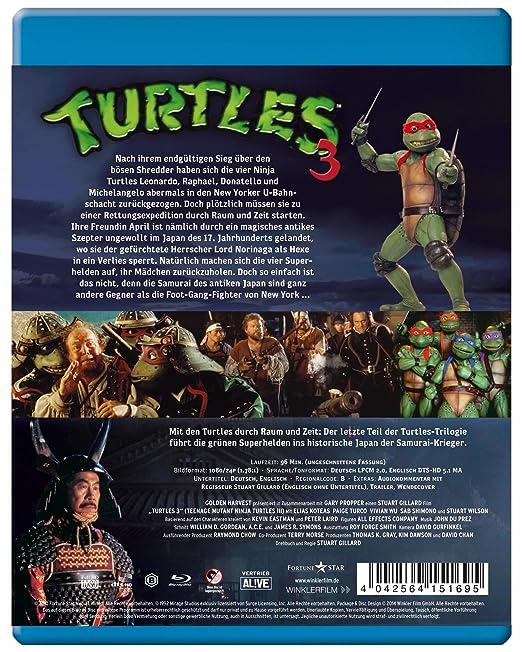 Amazon.com: Turtles 3 - Ninja Turtles: Movies & TV