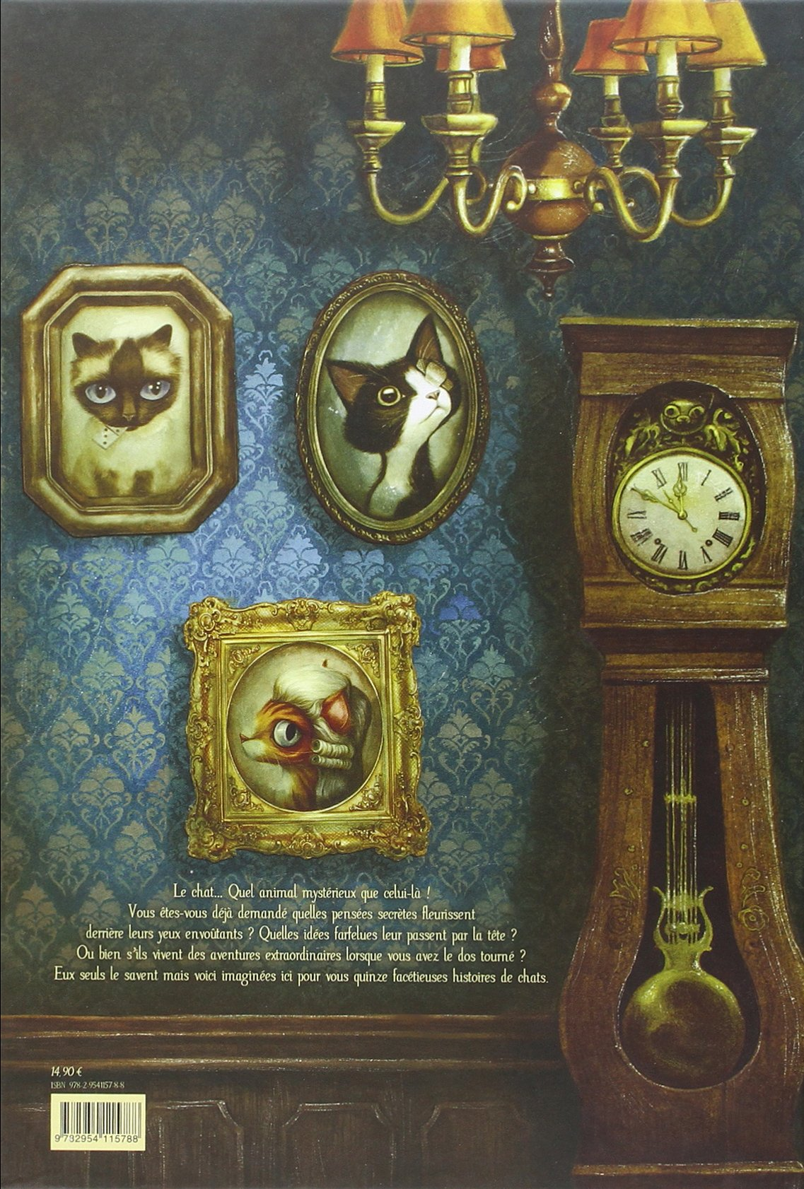 Faceties de chat (French Edition): Benjamin Lacombe ...
