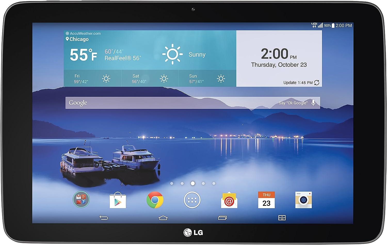 Amazon Com Lg G Pad 4g Lte Tablet Black 10 1 Inch 16gb Verizon Wireless Computers Accessories