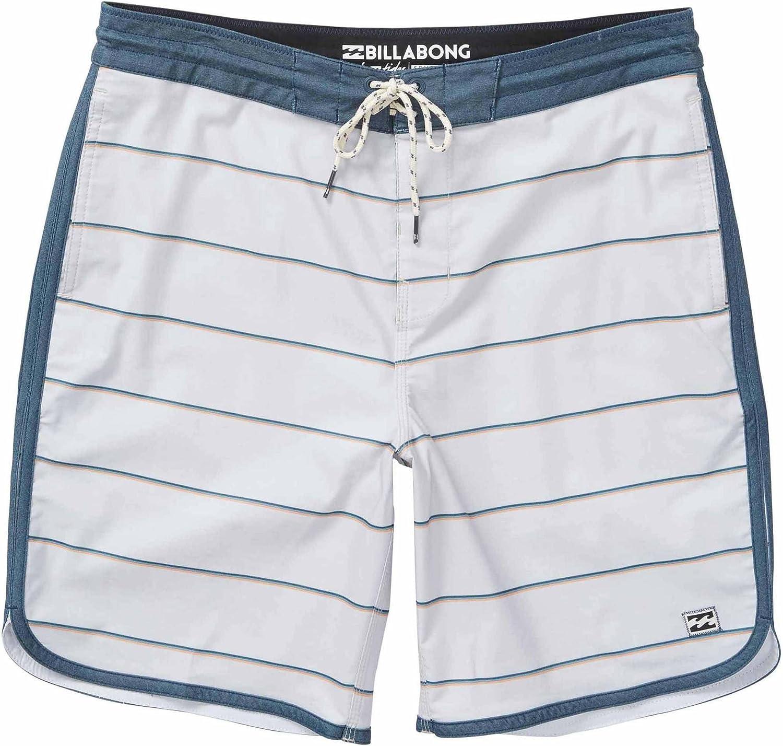 Billabong Mens 73 Lo Tides Stripe Boardshort