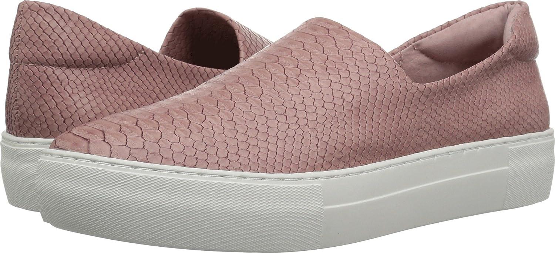 J Slides Women's Ariana Fashion Sneaker B07D3TP7QW 9.5 B(M) US|Blush Embossed Lux