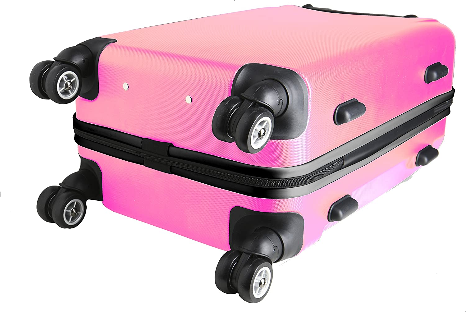 Pink Denco NCAA Providence Friars Carry-On Hardcase Luggage Spinner