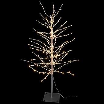 Weihnachtsdeko Für Balkongeländer.Snowera Led Weihnachtsbeleuchtung Außen Weihnachtsbaum Mit Timer