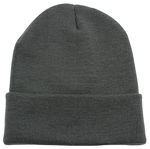 b29889a57c4 PZLE Warm Winter Hat Knit Beanie Skull Cap Cuff Beanie Hat Winter Hats for  Men (