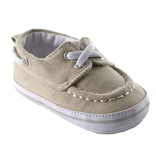 816f7e2fad507 Luvable Friends Boy's Slip-On Shoe For Baby Loafer Boat Shoe