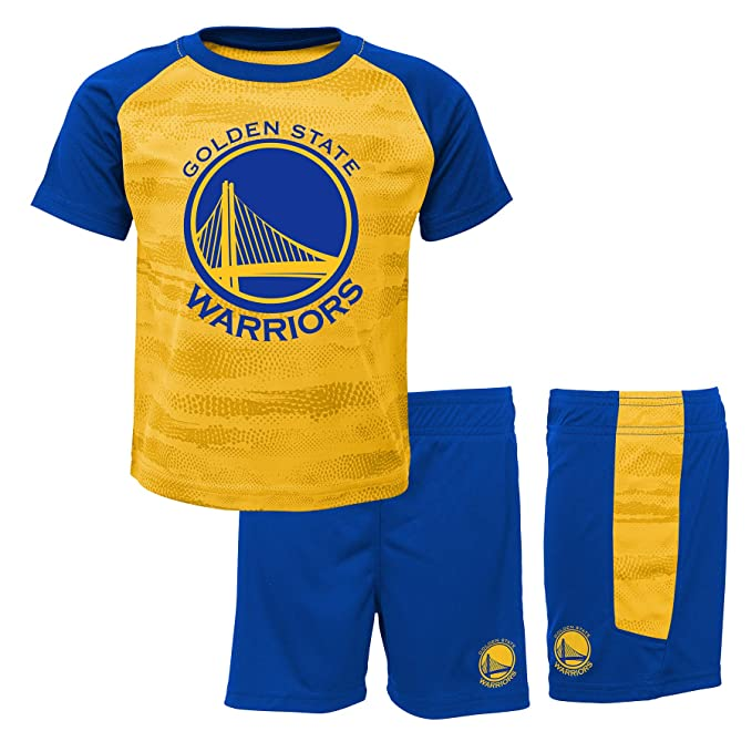 NBA Golden State Warriors-Shorts and T-Shirt Set, Conjunto Ropa Deportiva para Niños: Amazon.es: Ropa y accesorios