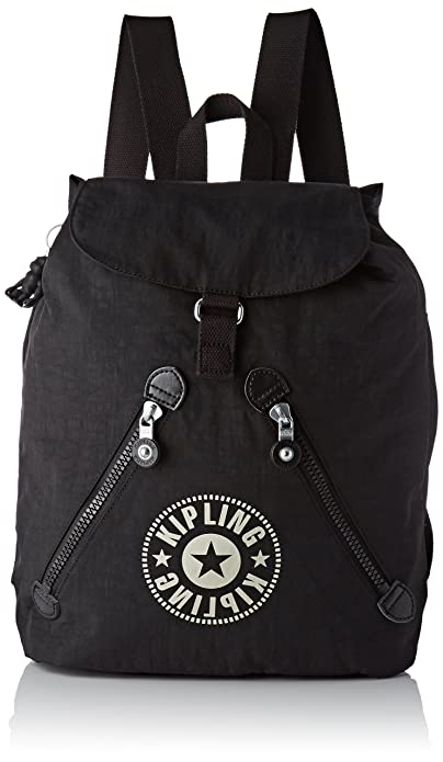 6409079081e Kipling Fundamental Nc, Women's Backpack, Black (Lively Black), 16.5x42x42  cm