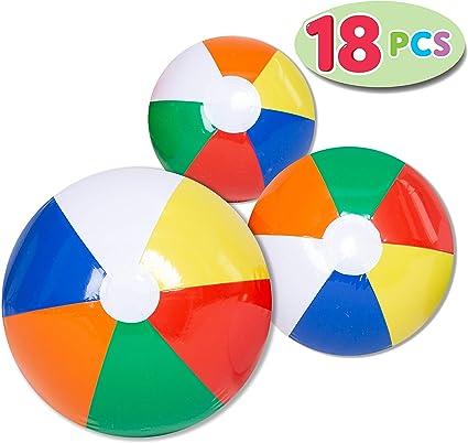 Amazon.com: Joyin - Bolas de playa (18 unidades), juego ...