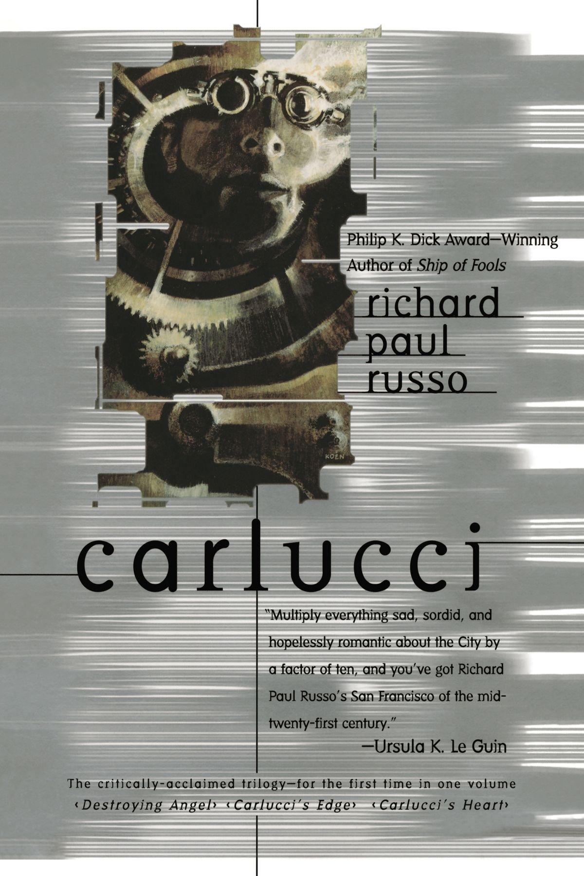 Carlucci 3 In1 Russo Richard Paul 9780441010547 Amazon Com Books