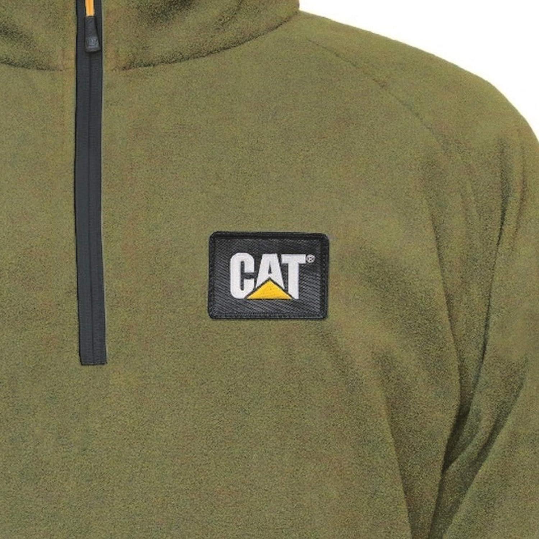 Caterpillar Mens AG Fleece Pullover Jumper