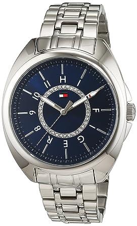 Reloj analógico para mujer Tommy Hilfiger 1781698, mecanismo de cuarzo, diseño clásico, correa de acero inoxidable.: Amazon.es: Relojes