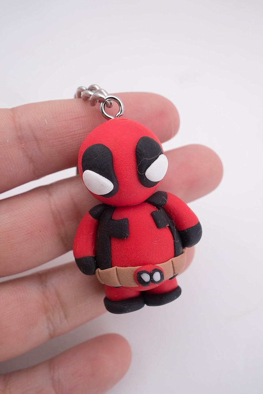 Llavero Deadpool figura miniatura deadpool marvel: Amazon.es ...