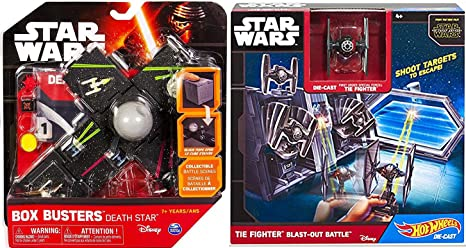0c6cd1099e6b Image Unavailable. Image not available for. Color: Hot Wheels Star Wars TIE  Fighter ...