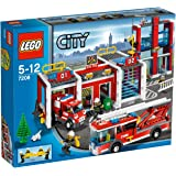 LEGO City 7208: Fire Station
