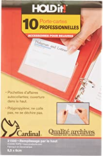 Amazon worldwin translucent heavyweight vellum 85x11 clear cardinal business card refills 21500cb colourmoves