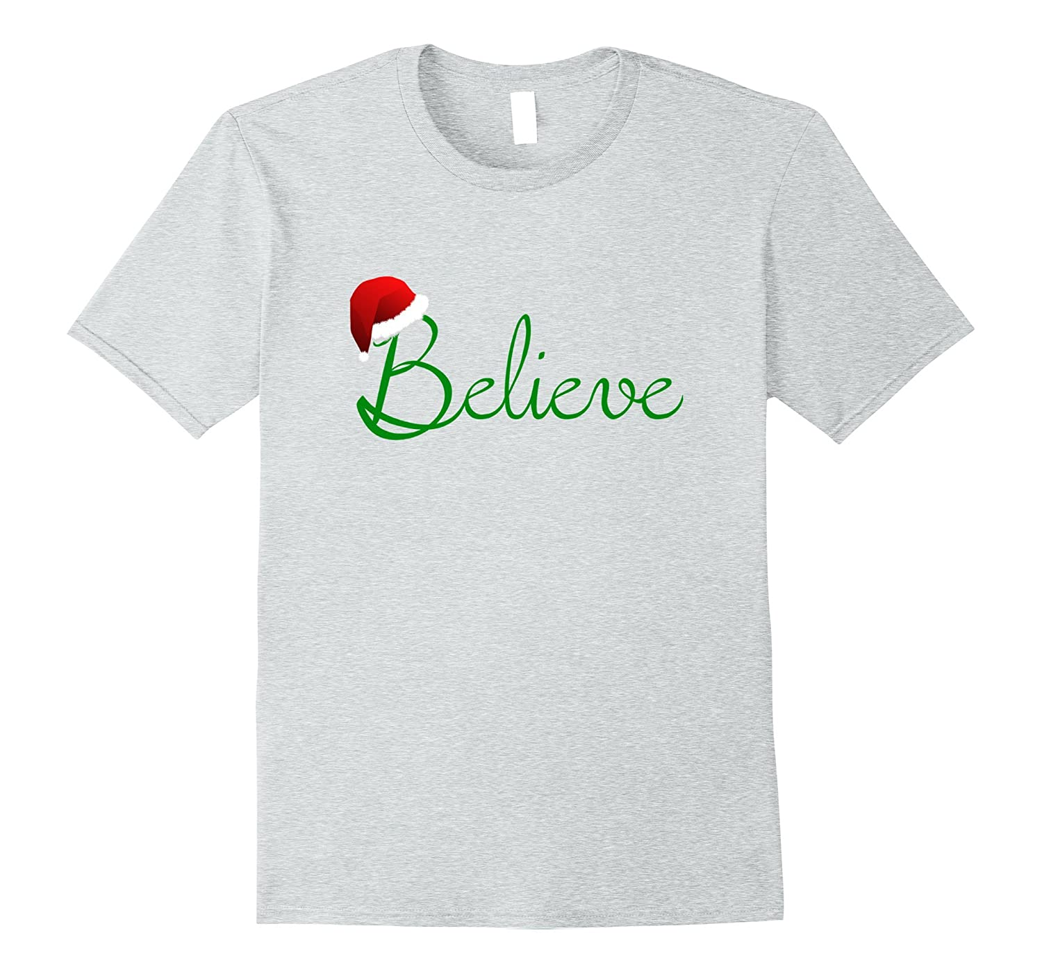 believe christmas shirt best santa christmas tee rt