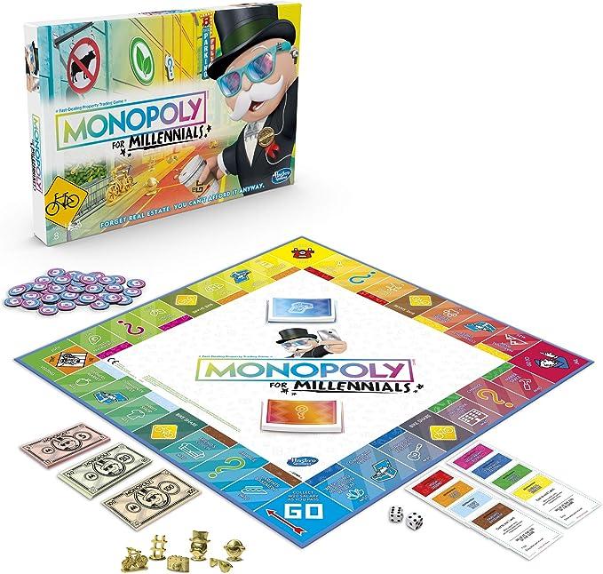 Hasbro Gaming Monopoly for Millennials Juego de Mesa: Amazon.es: Juguetes y juegos